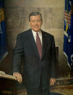 John Howard Sanden - American Portrait Painter.  Painted official White House portraits of former Pres. & Mrs. George W. Bush. (I took a workshop with Sanden in 80's!)