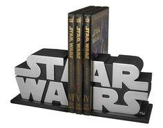 Sujetalibros con el logo de Star Wars