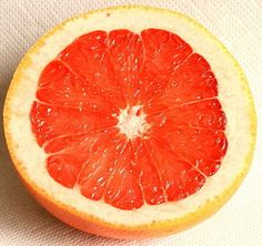 You've GOTTA try cleaning your tub with grapefruit.