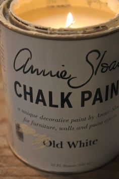 My Sweet Savannah~how to make candles out of old paint and wax containers!