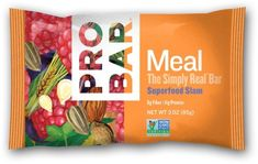 Probar Meal: The Real Whole Food Bar, Superfood Slam, 36 Ounces 12 Count (Pack of 12), Brown