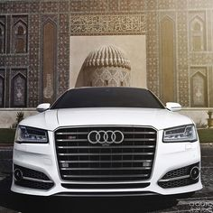 """""""The brand new Audi S8 by @auditography. A four door sedan that does 0-62mph(0-100kmh) in under 4 seconds."""""""