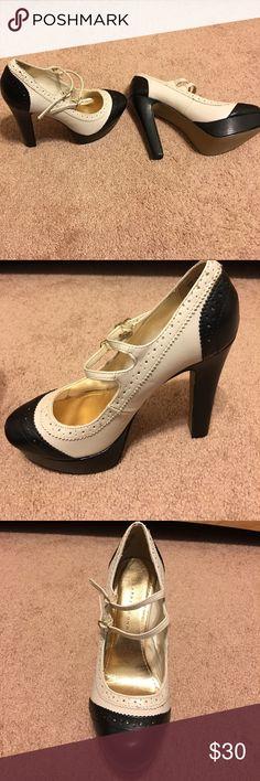 Rockabilly style high heels Worn once in Vegas! Rockabilly style high heels! Great great condition! Shoes Heels