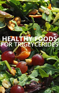 Dr Oz talked about the Triglyceride Foods you need in your diet that will help you to bring your numbers down, like black beans, spinach and grapes.