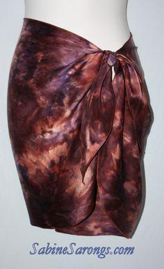 sandwash silk charmeuse sarong