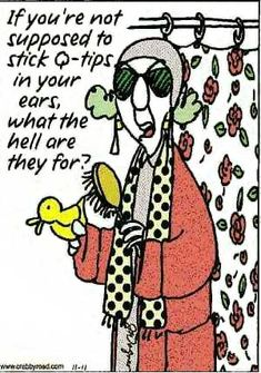 Crabby Road Cartoons | crabby road cartoons by john wagner featuring maxine and her pearls of ...
