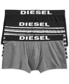 Diesel Men's 3 Pack Shawn Trunks