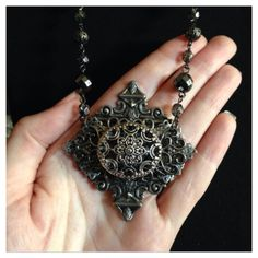 One of a Kind Victorian Filigree Style by LaurelWittingDesigns, $95.00
