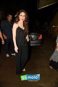 Kareena Kapoor Khan snapped at Mehboob Studios in Mumbai