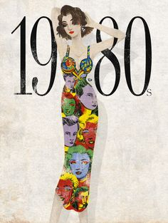 Pop Culture And Fashion Magic: Decades in fashion