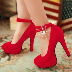 imagenes de zapatos de tacon de moda rojos - Buscar con Google