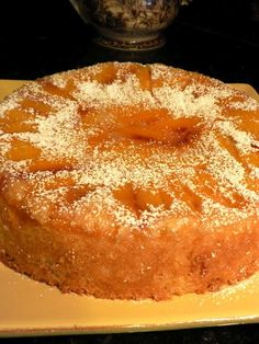 Georgia Peach Cake. Summer is on its way and fresh peaches will be ready soon.....this cake has orange zest in it too, so along with the peaches and orange zest, I am sure its a winner:)
