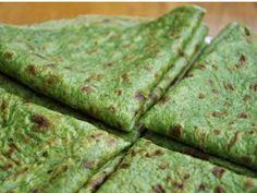 Foto del paso 1 de la receta Masa de para wraps de espinaca ¡sin harina!