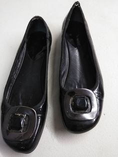 5bdbea32d Amalfi Women's Size 7 B Loafer Made In Italy Black Buckle #fashion  #clothing #