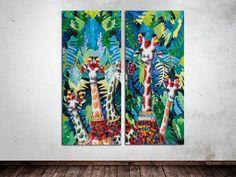 Welke kant vind jij het mooist? Rechts of links? Laat het ons weten!  Interieur | Schilderijen | Wonen | Interieurideeen | Interieur woonkamer | Decoratie | Woondecoratie | Schilderij woonkamer | Schilderijen abstract