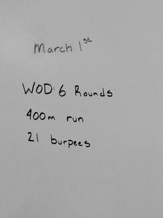 WOD - 6 rounds: run, 21 burpees Fun Workouts, At Home Workouts, Fitness Tips, Fitness Motivation, Crossfit At Home, Travel Workout, Sweat It Out, I Work Out, Gym Time