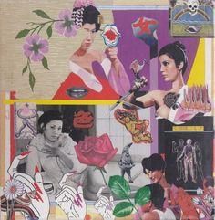 Shinro Ohtake 大竹伸朗 2006 幻の名盤お色気BOX  (Maboroshi No Meiban: Sexy Box) [P-Vine PCD-7269-74] #backcover