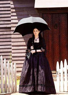 fuckyeahcostumedramas: Janet Montgomery in 'Salem' (2014).