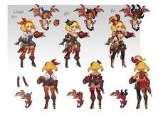 Light Characters - Ranger, Gouf Gouf