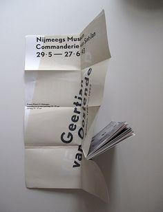 Karel Martens, Poster/Book