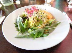 Leaf salad with home-made dressing @ Pop-Up Restaurant Momoll