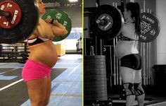 See This 9-Months Pregnant Woman Lift 100 Pounds Like It's Lint