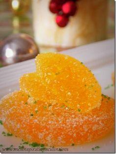 pates de fruits au jus d'orange