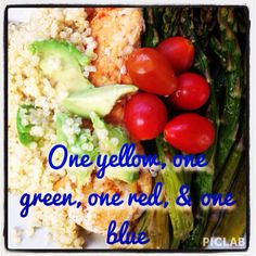Lunch meal idea for 21 Day Fix