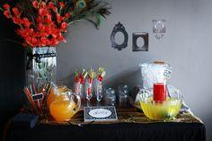 Emily O: The Portfolio: Styled Event: Vintage Rockstar Anniversary Party