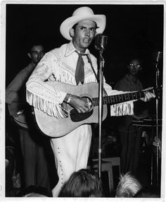 Hank Williams: His song about lyin', cheatin', and drinkin' won the failed rodeo rider a home at Nashville's Grand Ole Opry. Though the hillbilly Shakespeare read no music, his own ballads were soon covered by such mainstream artists as Jo Stafford and Tony Bennett. Williams's own vices undid him; drugs and alcohol are suspected of triggering a fatal heart attack.