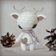 Vaalea - Original Handmade Reindeer/Collectable/Gift/Charm