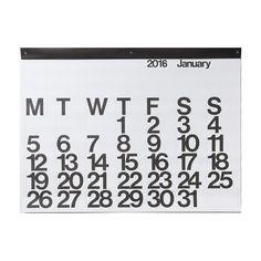 Stendig 2016 calendar via Arrow House http://www.arrowhouse.ca/products/stendig-calendar