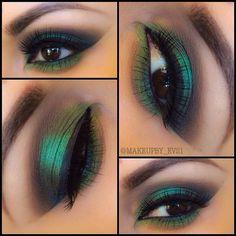 The Emerald Green Look