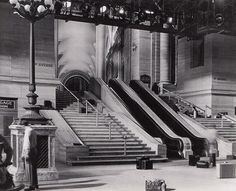 THE CLOCK. Penn Station set for The Clock (1945) MGM built in Culver City