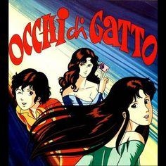 Occhi di gatto Cartoons Love, 90s Cartoons, Vintage Tv, Vintage Cartoon, Anime Girl Dress, Creation Art, City Hunter, My Childhood Memories, Manga Games