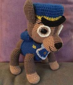 Chase Pat Patrouille crochet