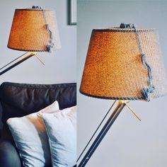 Easy lampshade diy in my blog #diy #spoonfulness #lampshade