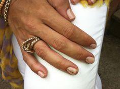 #spring #2014 #inspiration #coral #stud #nailart #design #bright #nude #colour #gel #nails #biosculpturegel #UK #official