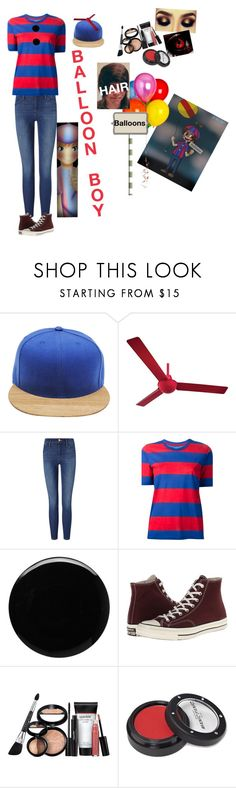 """Balloon Boy"" by hgirl0077 ❤ liked on Polyvore featuring TWO-O, Minka Aire, Frame Denim, Étoile Isabel Marant, Deborah Lippmann, Converse, Laura Geller, Manic Panic NYC and Freddy"
