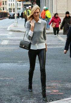 EstiloDF » Trend Alert: ¡amamos los leather leggings de Balenciaga!