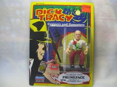Dick Tracy Coppers and Gangsters Pruneface Action Figure #DickTracy