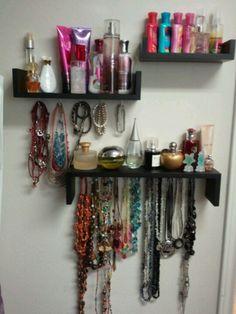 Perfume Shelf U0026 Jewerly Organizer