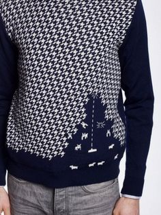 Space Invaders pullover