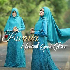 Gaun pesta muslim cantik yang pasti kamu suka...