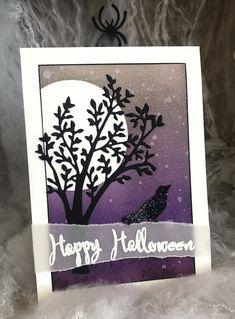 Gartenzauber, Aus der Kreativwerkstatt, Schöne Schatten Halloween, Blog, Main Colors, Polka Dots, Embellishments, Shadows, Stencils, Projects, Cards