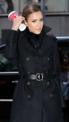 Jessica Alba to the FOX studios Fox Studios, Star Fashion, Womens Fashion, Jessica Alba, Celebs, Celebrities, Winter Looks, Role Models, What To Wear
