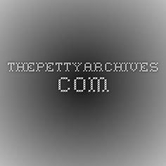 thepettyarchives.com