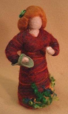 Autumn Maiden by Sage Dream Design - Waldor and Wool Dolls