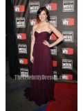 Mandy Moore Strapless Formal Dress Prom Gown at the 16th annual Critics' Choice Movie Awards - TheCelebrityDresses