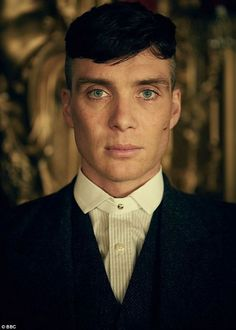 """Cillian Murphy as Thomas """"Tommy"""" Shelby in the the Netflix hit show Peaky Blinders. Peaky Blinders Characters, Peaky Blinders Poster, Peaky Blinders Wallpaper, Peaky Blinders Quotes, Peaky Blinders Suit, Peaky Blinders Tommy Shelby, Peaky Blinders Thomas, Cillian Murphy Peaky Blinders, Costume Peaky Blinders"""